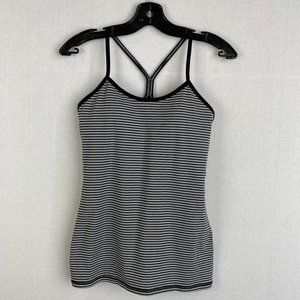 LULULEMON Stripe Tank Top